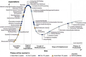 The Gartner Hype Cycle, 2013